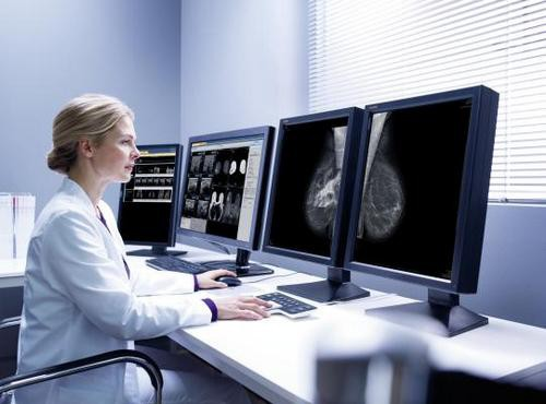 Mammography worstation